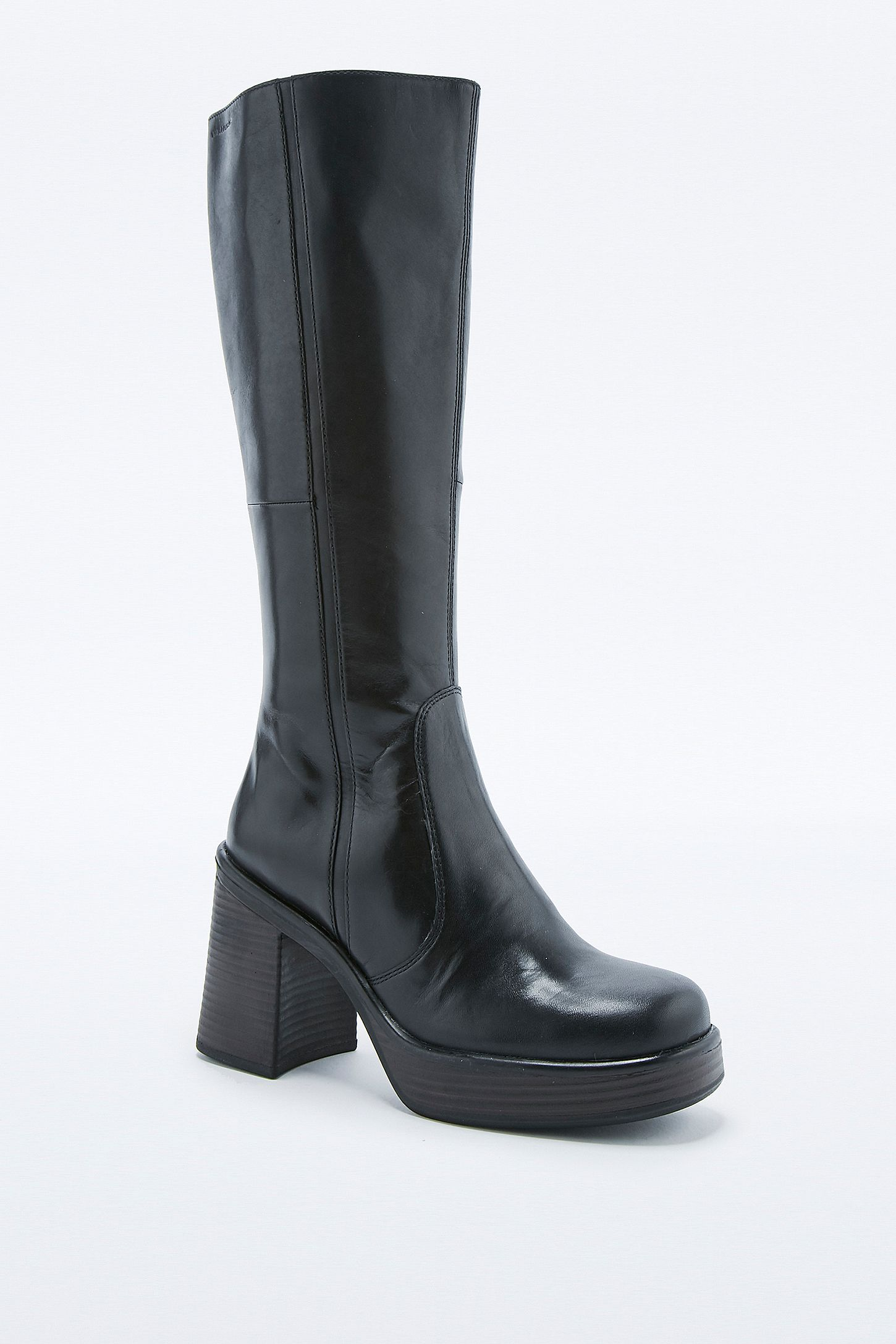 70799882f47 Vagabond Tyra Black Knee High Boots