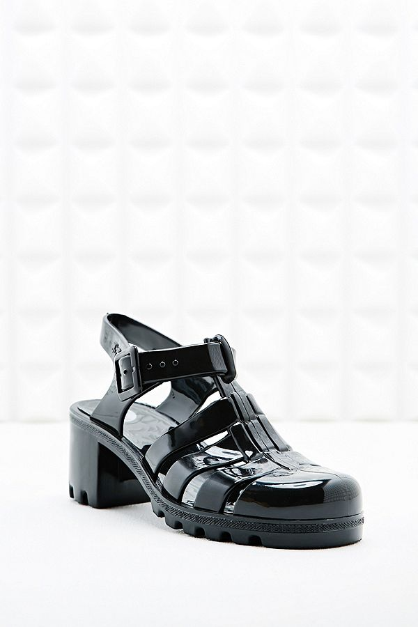 Heel Uk Outfitters Juju Jelly Sandals In BlackUrban Babe tBshrdCxQ