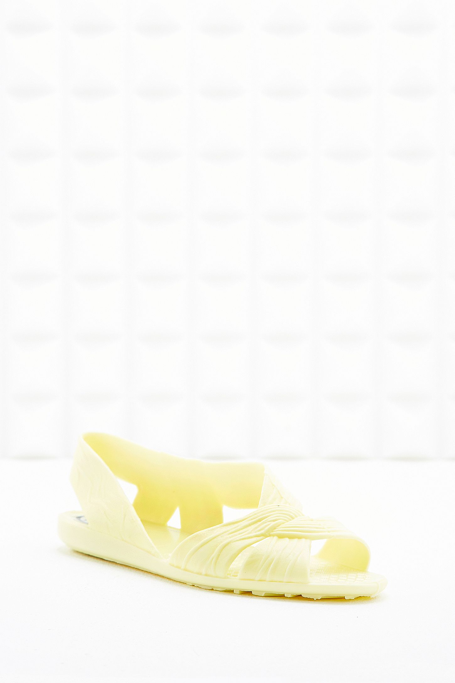 05b35497e379 JuJu Fergie Jelly Sandals in Yellow