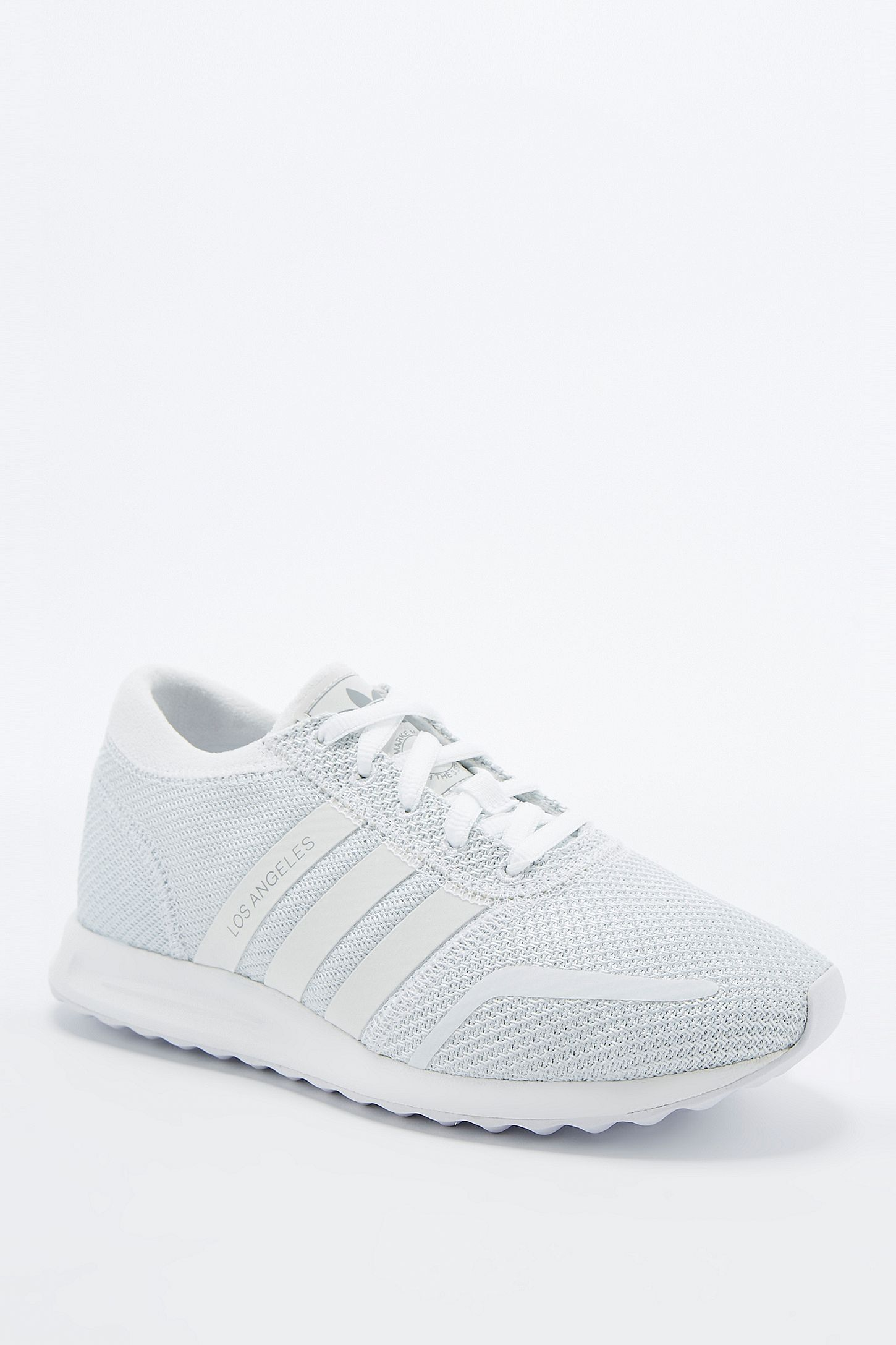 check out f30c2 ef7b4 adidas Originals Los Angeles White Trainers. Click on image to zoom. Hover  to zoom. Double Tap to Zoom