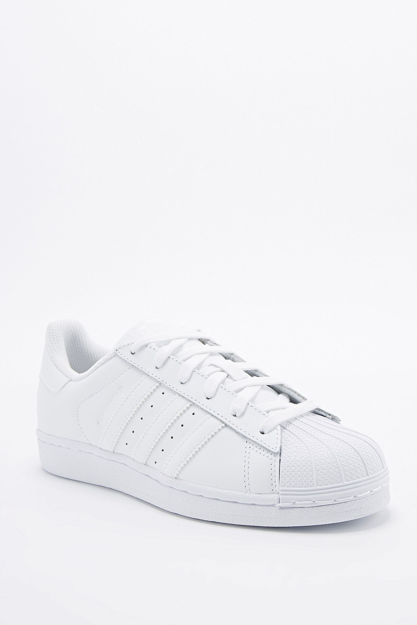 finest selection 73a6e 2fb80 adidas Originals Superstar 80s All-White Trainers. Click on image to zoom.  Hover to zoom. Double Tap to Zoom