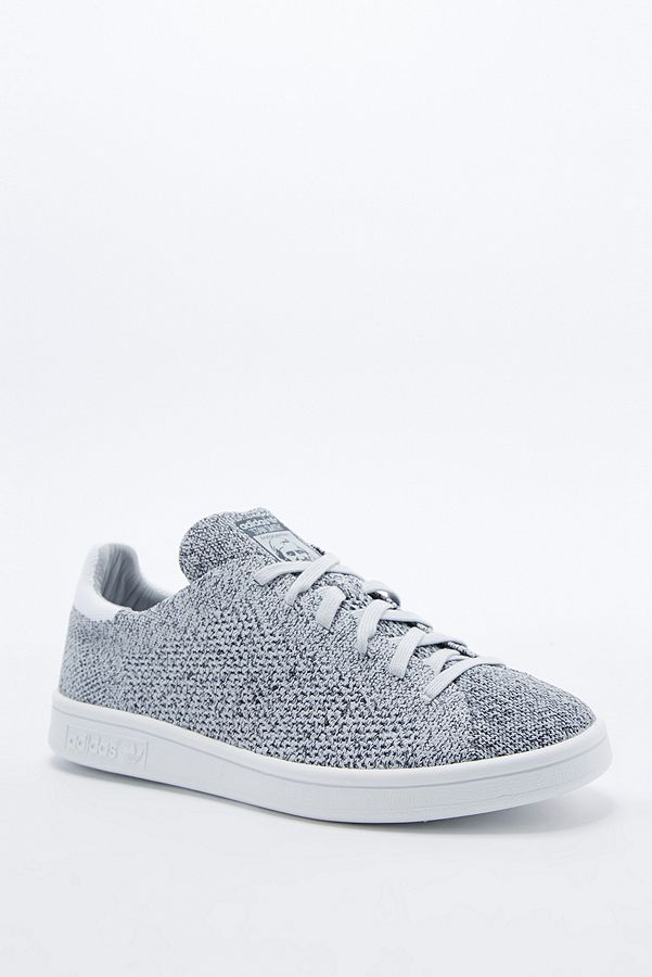 Adidas Stan Smith Knit Trainers in Grey   Urban Outfitters UK
