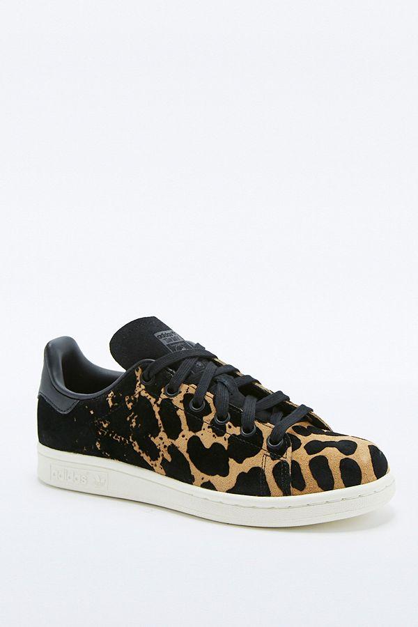 nouveau style 1a125 4c44d adidas Originals Stan Smith Leopard Trainers | Urban ...