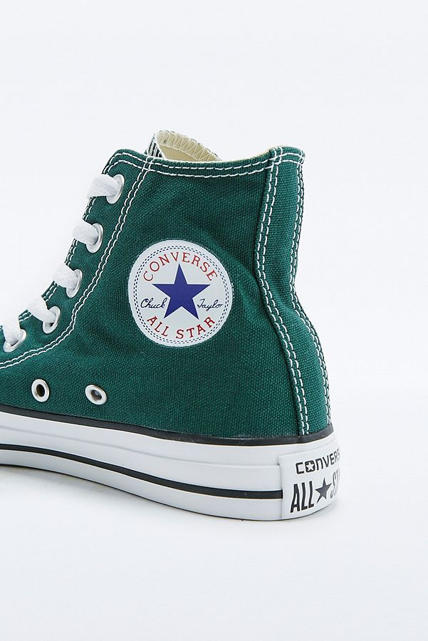 Converse - Baskets montantes All Star Chuck Taylor vert ...