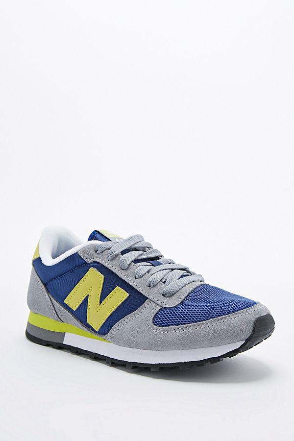 Einkaufen neue Fotos heiße neue Produkte New Balance 430 Trainers in Grey, Navy and Lime   Urban ...