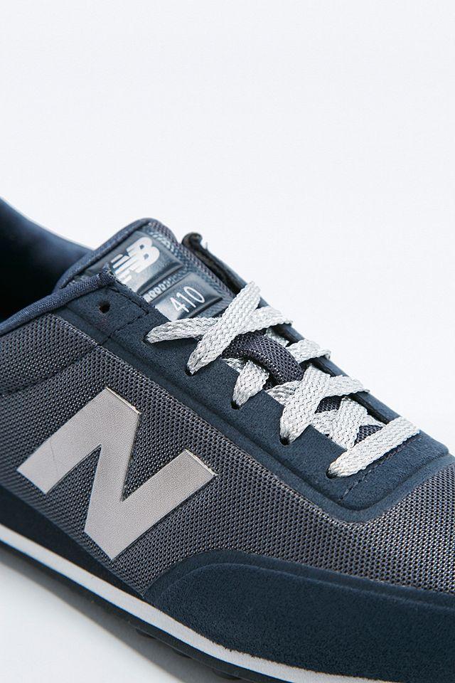 New Balance - Baskets 410 bleu marine et argent