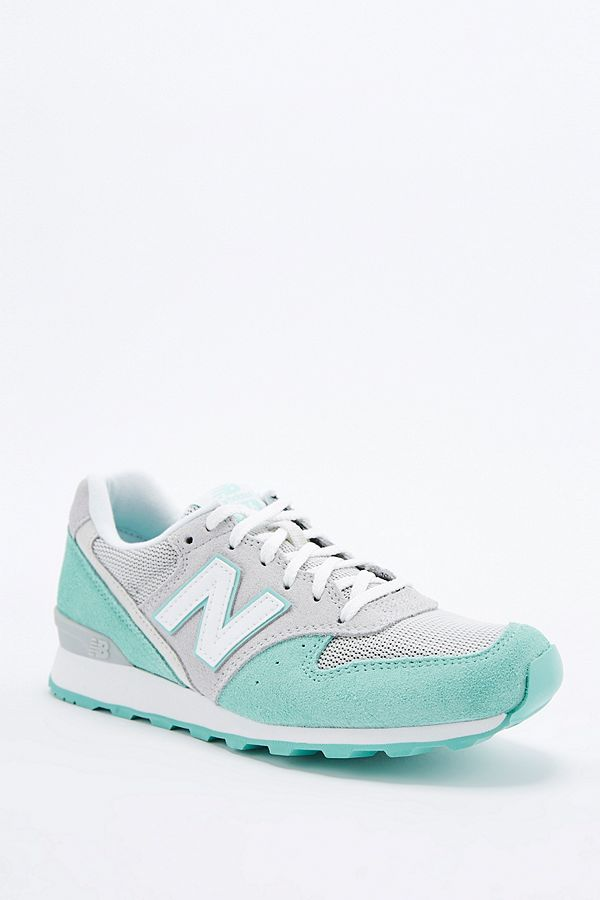 wholesale dealer b3c5d 6aeeb New Balance 996 Mint Trainers | Urban Outfitters UK