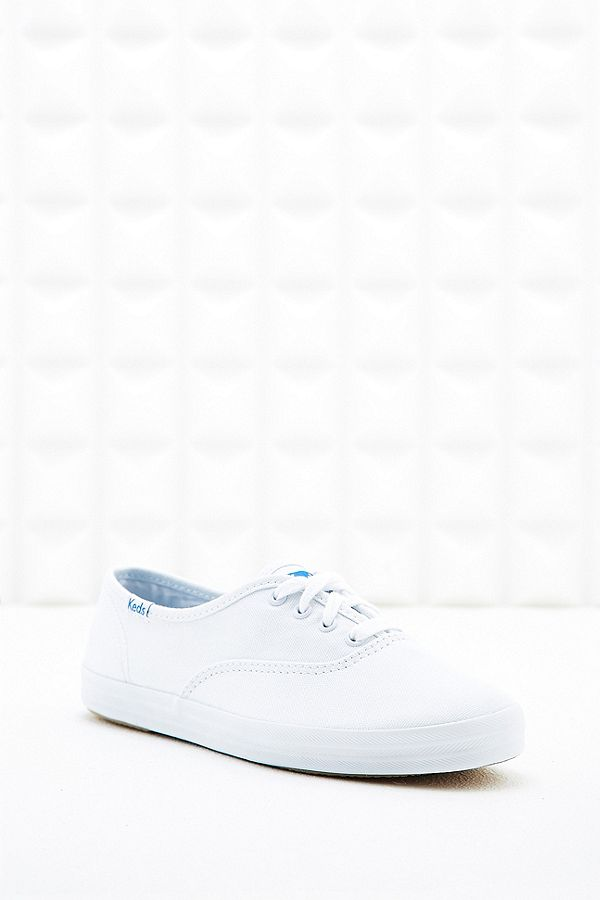 4951ee49dc062 Keds Champion Core Canvas Trainers in White