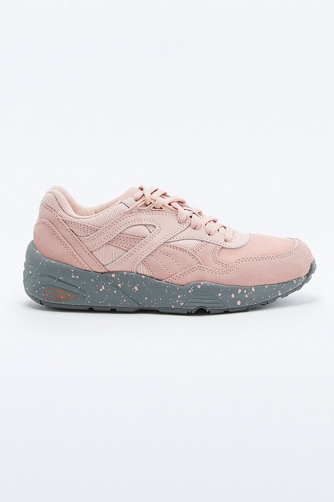 Puma Trinomic R698 Pink Trainers | Urban Outfitters UK
