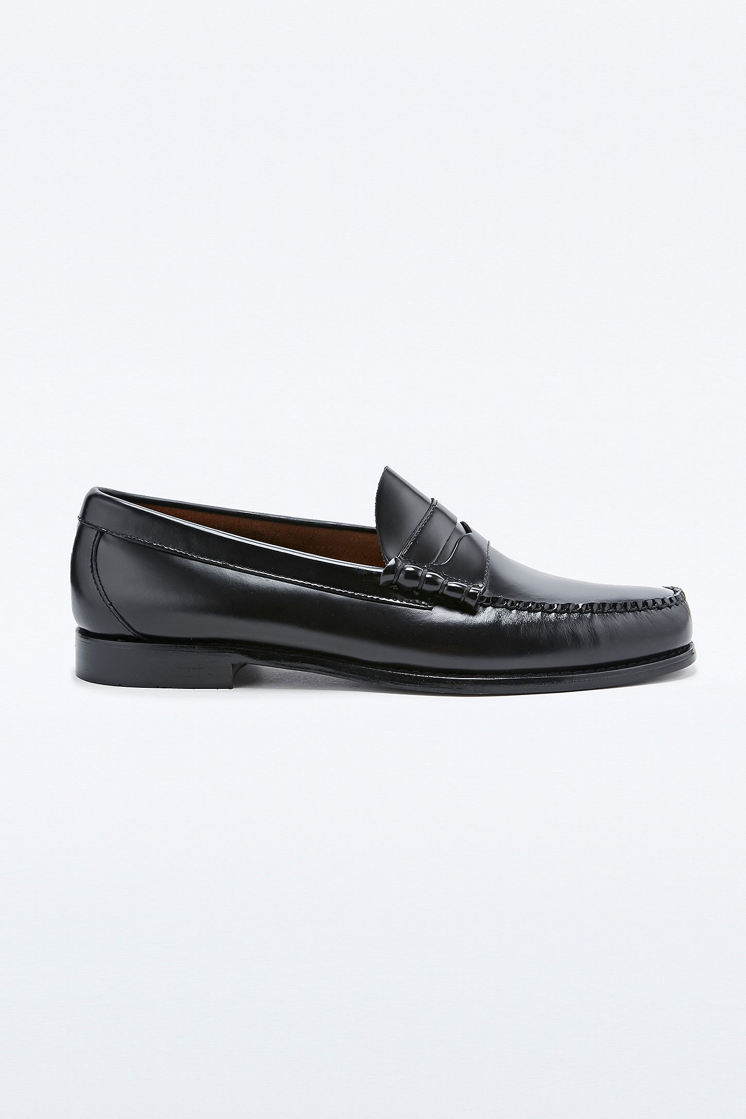 699657db615 Bass Weejuns Larson Penny Loafers in Black