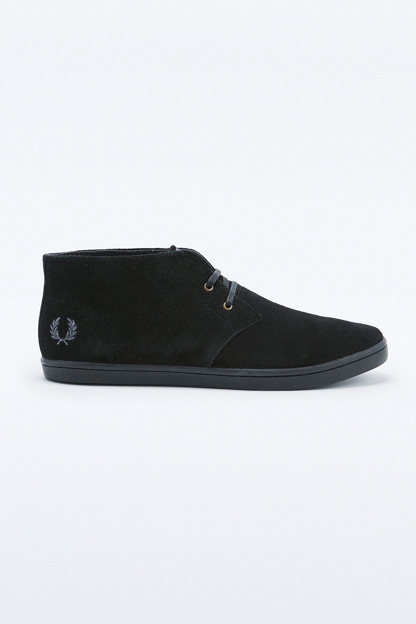 cfe0ca8e1db Fred Perry Byron Black Desert Boot. Click on image to zoom. Hover to zoom.  Double Tap to Zoom
