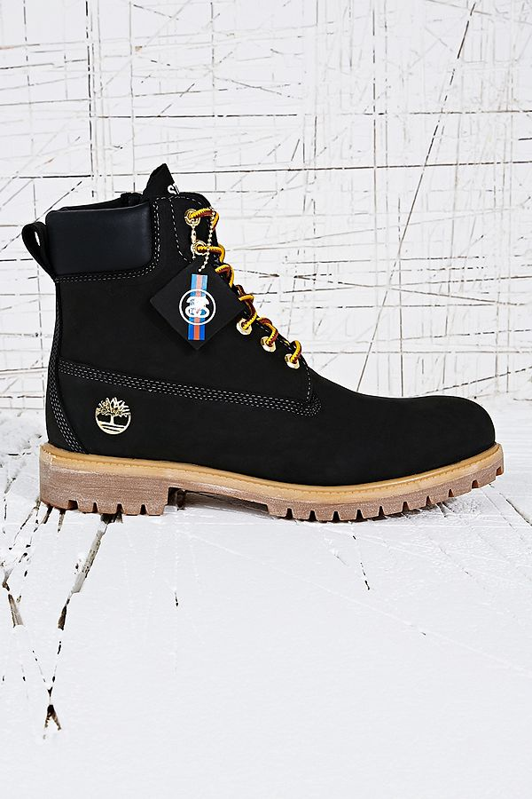 094b5ef6a553 Stussy X Timberland 6 INCH Boots in Black