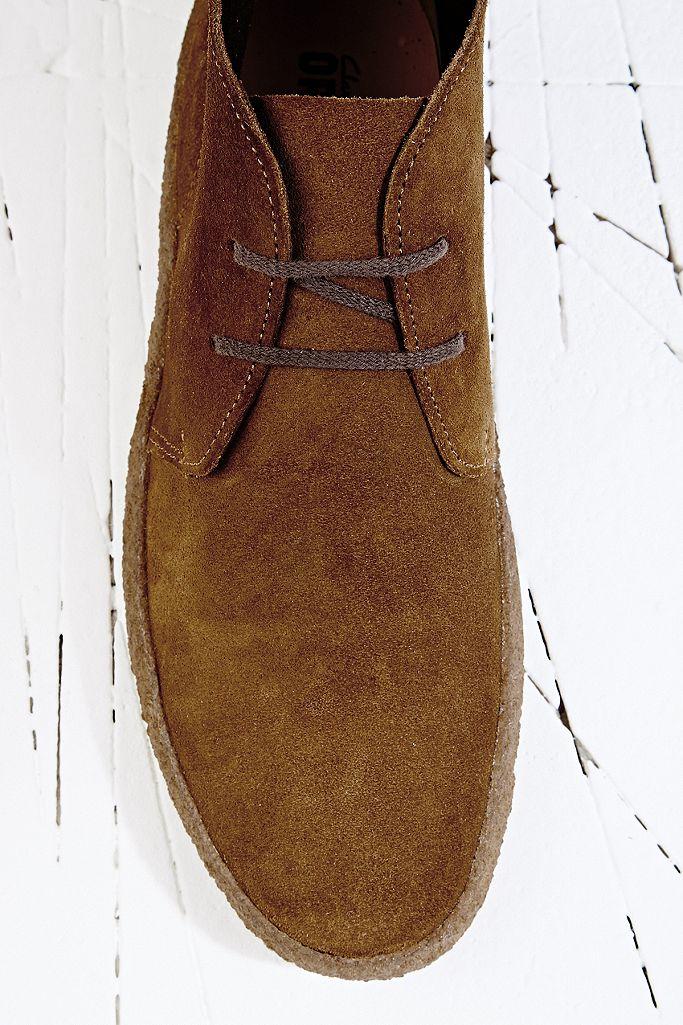 Clarks Originals Chukka Stiefel aus hellbraunem Wildleder