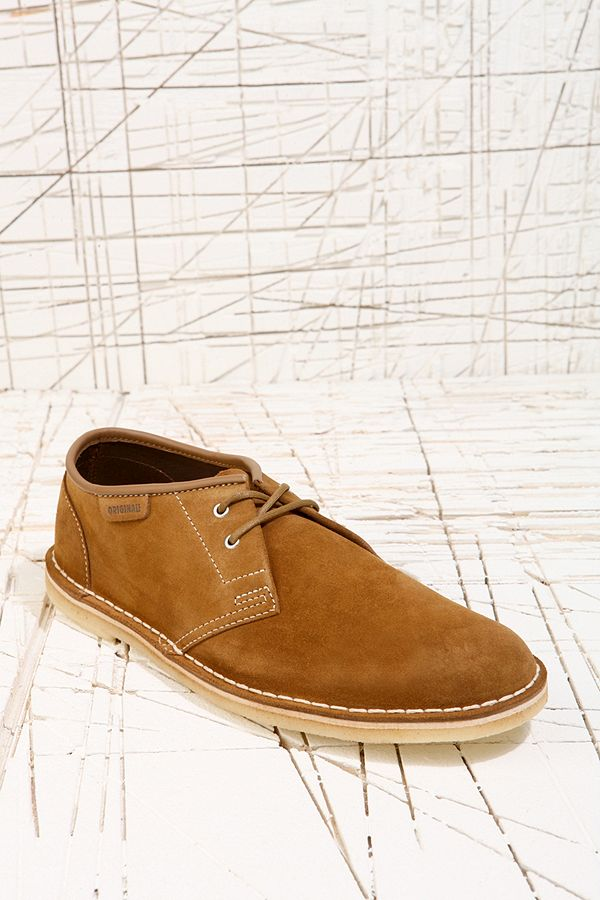 Clarks Originals Jink Cola Suede Shoes | Urban Outfitters UK