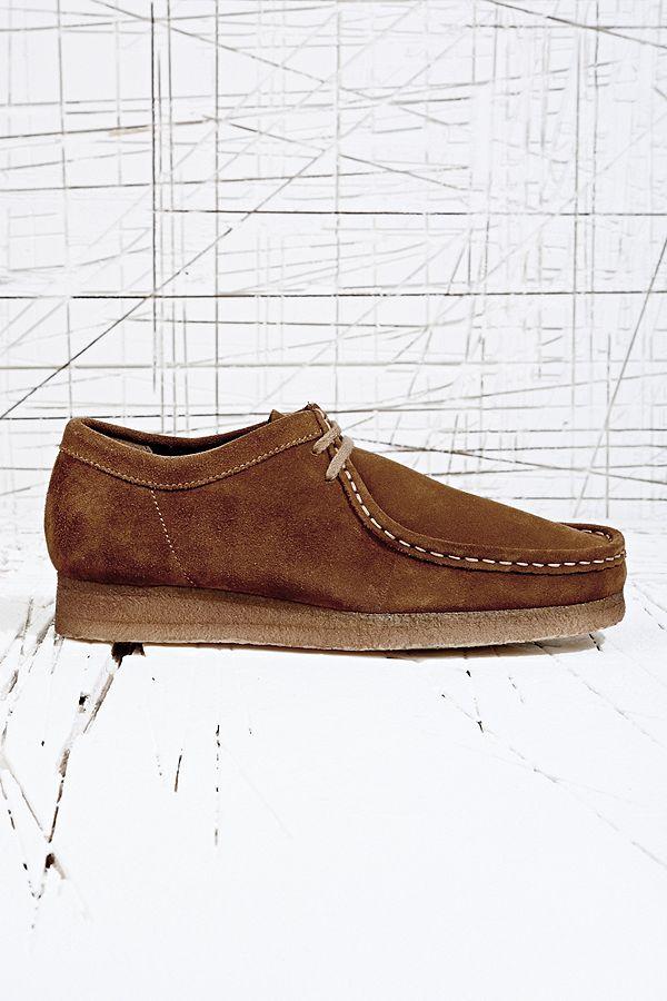 "the latest b34cd d617d Clarks Originals ""Wallabee"" Schuhe in Cola-Braun | Urban ..."