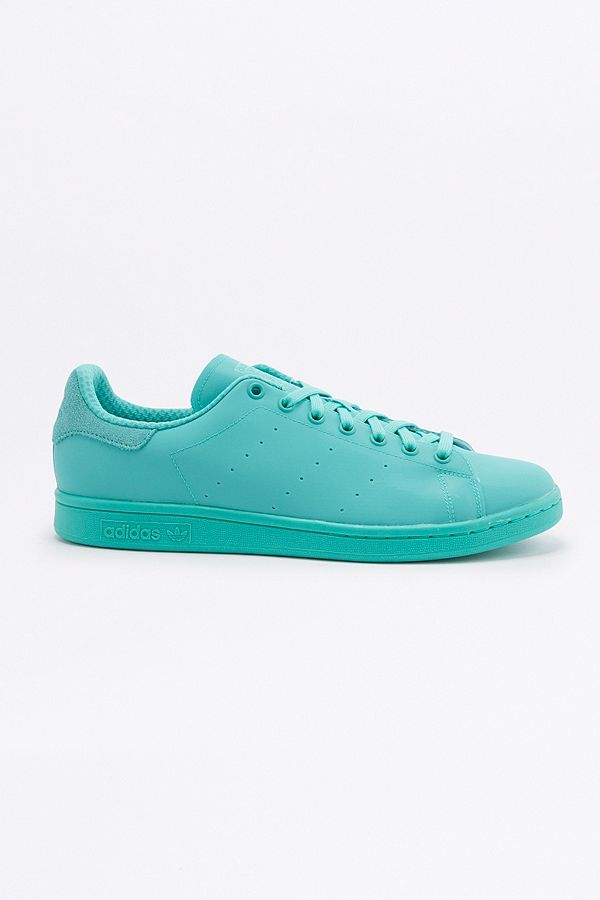 finest selection 1e458 b9006 adidas Originals Stan Smith Adicolor Green Trainers