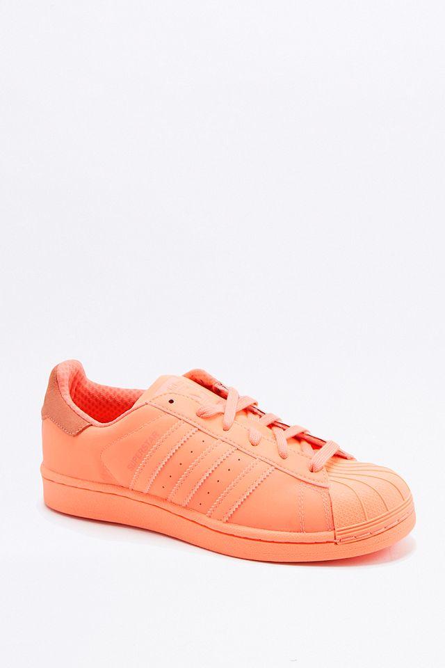 adidas Originals - Baskets Superstar Adicolor corail   Urban ...