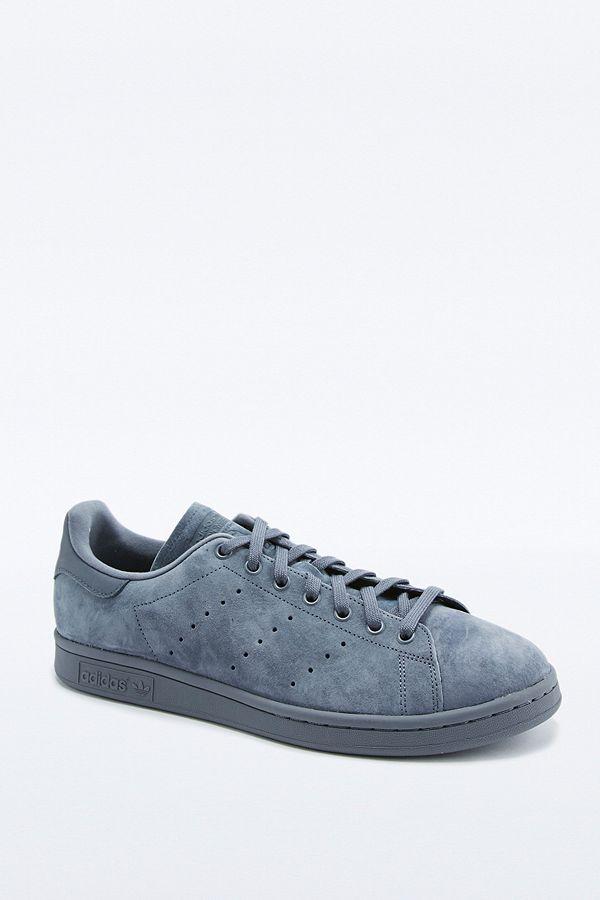 big sale 257c0 60051 adidas Originals Stan Smith Suede Onyx Trainers | Urban ...