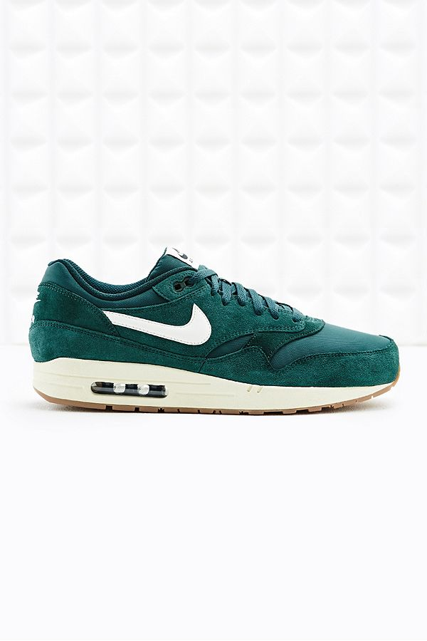 nike air max 1 essential suede green