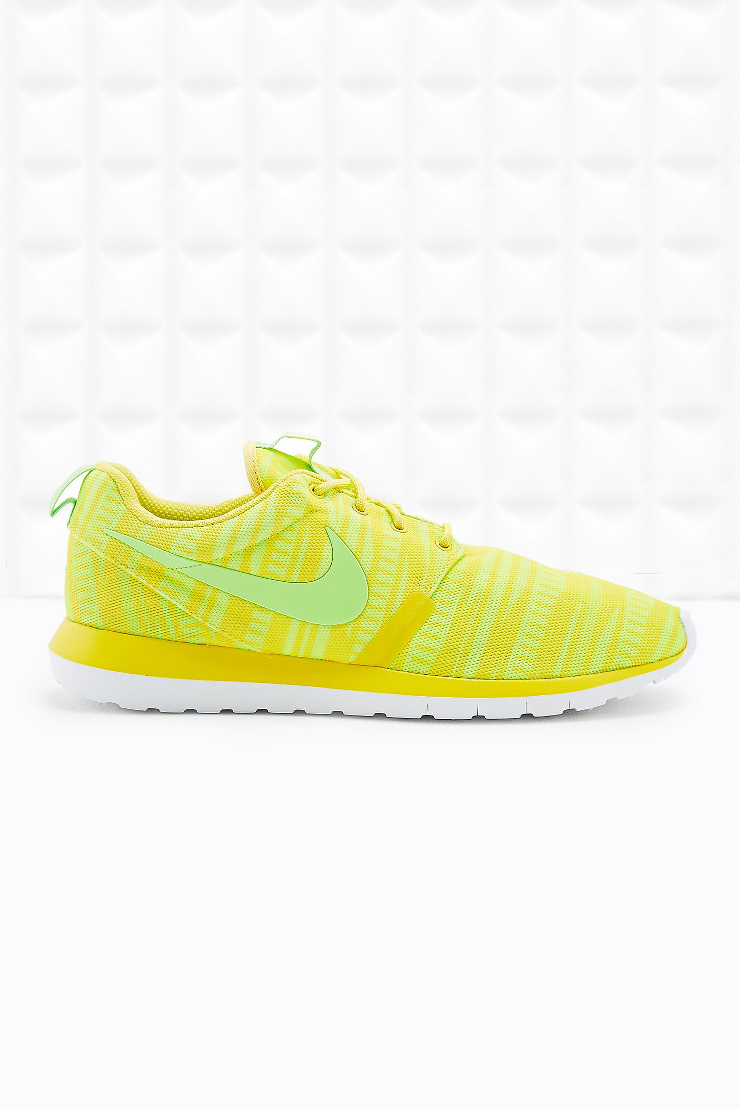 bf9cedd5891b Nike Roshe Run Essential Summer Trainers in Yellow. Click on image to zoom.  Hover to zoom. Double Tap to Zoom