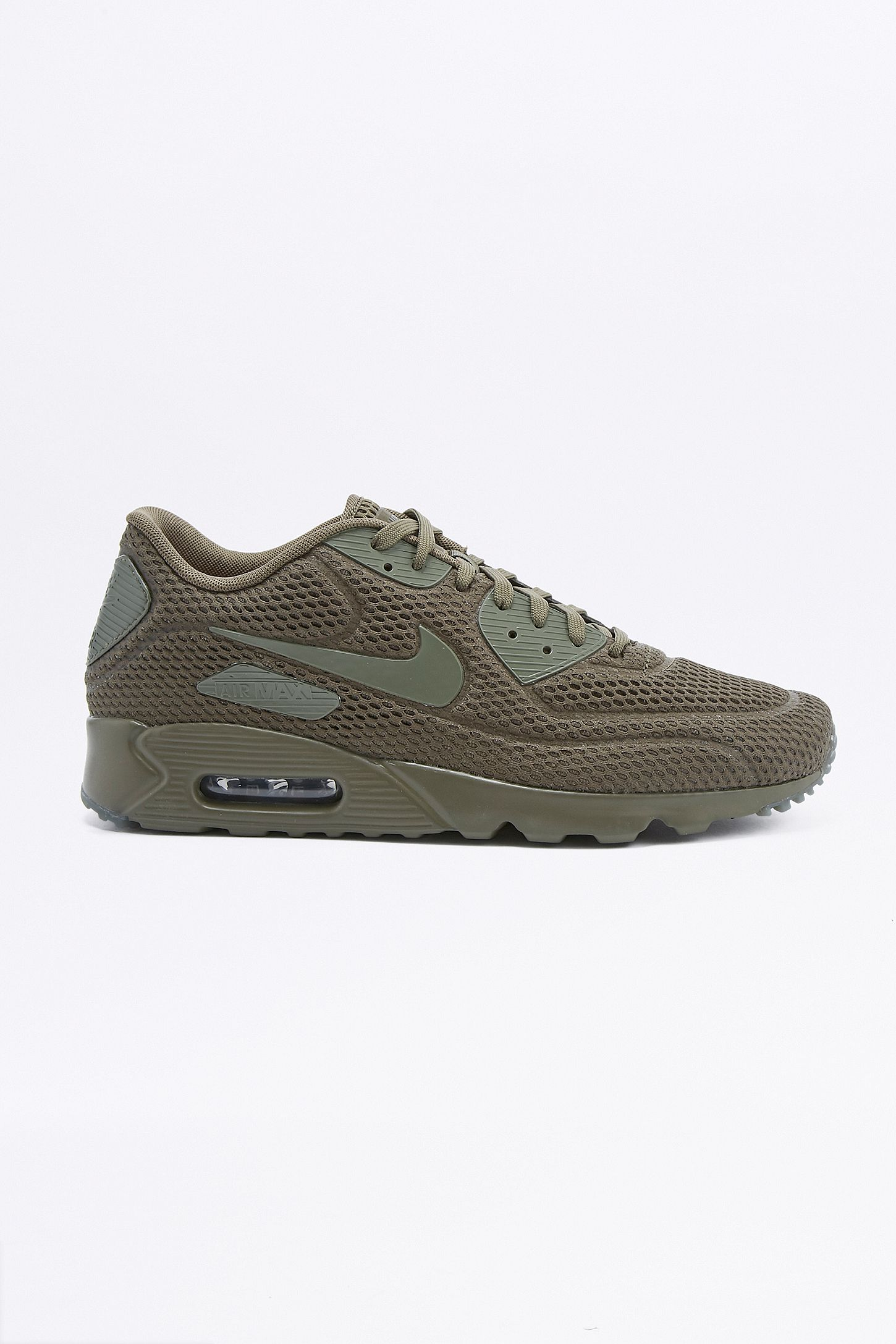 2e2b6d46a481 Nike Air Max 90 Ultra Breathe Khaki Trainers. Click on image to zoom. Hover  to zoom. Double Tap to Zoom