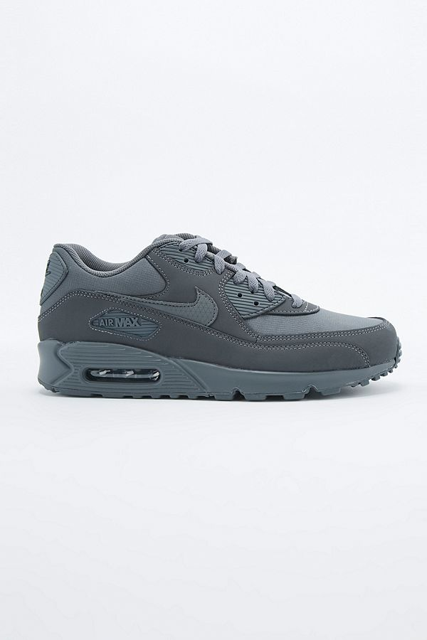finest selection a2a3a b8409 Nike Air Max 90 Essential Dark Grey Trainers | Urban ...