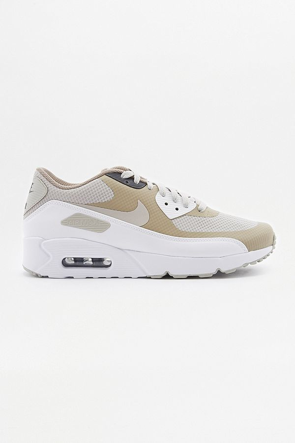 Nike Air Max 1 Essential Beige Trainers from Urban Outfitters