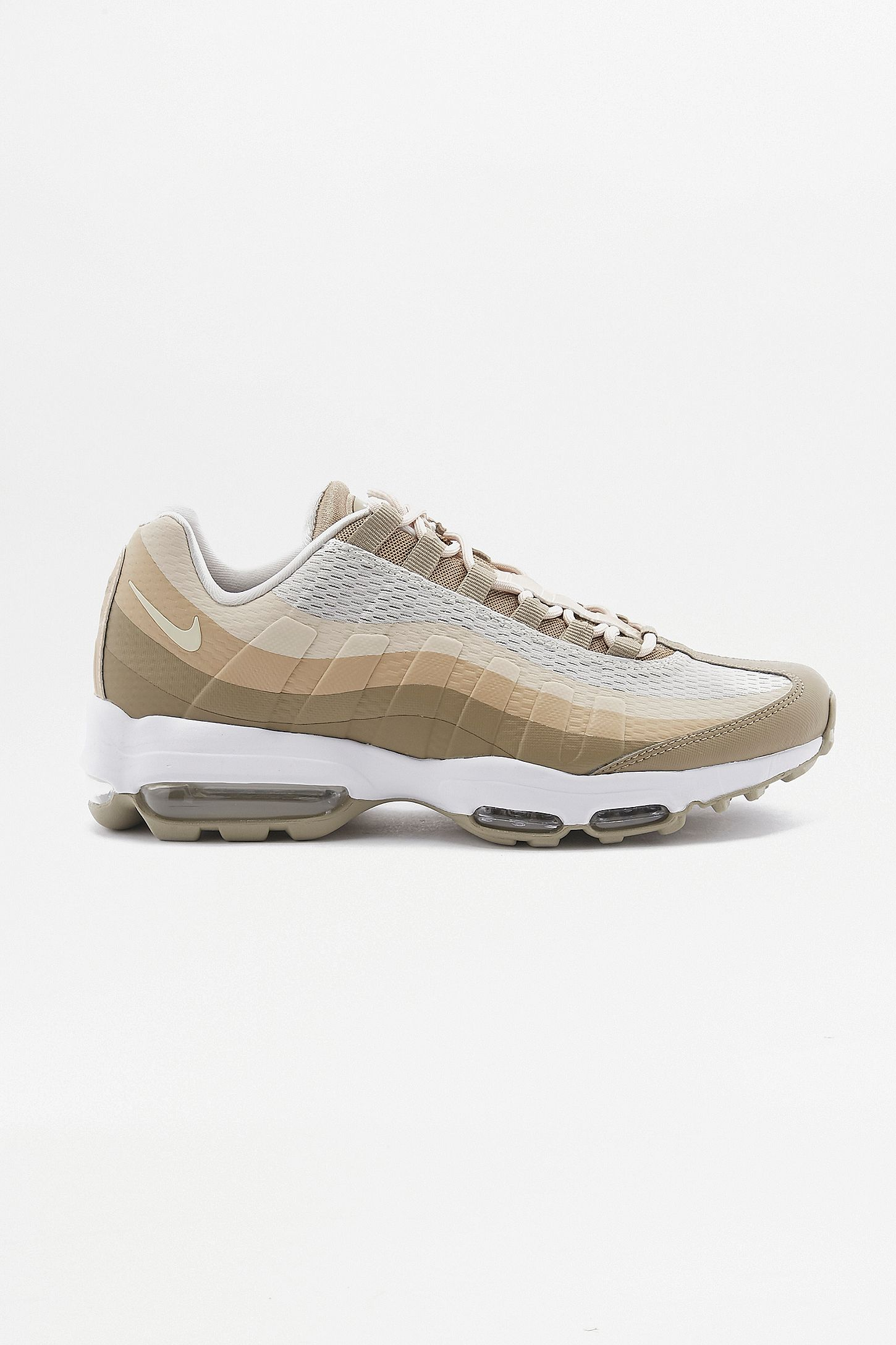 new style 5032b f5bf3 Nike Air Max 95 Ultra Essential Tan Trainers. Click on image to zoom. Hover  to zoom. Double Tap to Zoom