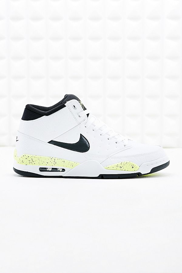 Nike Air Flight Classic Trainers in White | Urban Outfitters UK