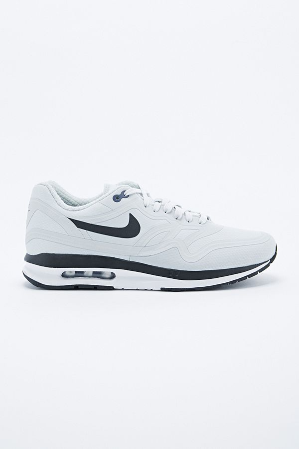 f7d5d41a35 Nike Air Max 1 Lunar Water Resistant Trainers in Grey | Urban ...