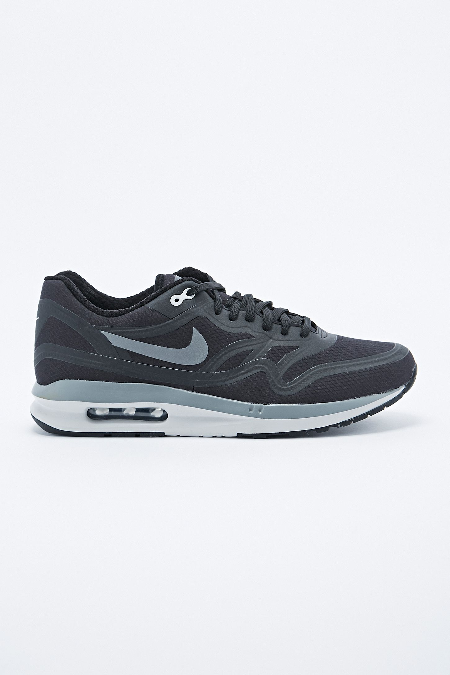 55de084e99 Nike Air Max 1 Lunar Water Resistant Trainers in Black | Urban ...