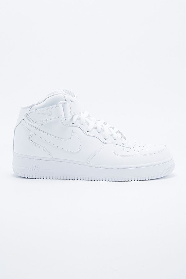 Nike Air Force 1 Mid Trainers In No Color