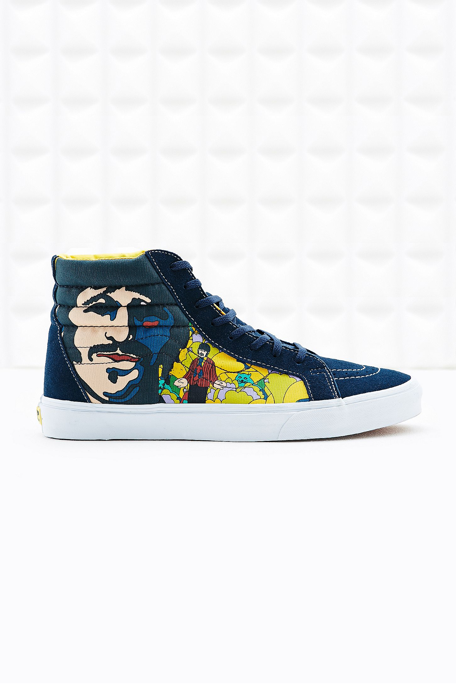 9fbccb9e61329d Vans Sk8-Hi Reissue Beatles Trainers in Navy. Click on image to zoom. Hover  to zoom. Double Tap to Zoom
