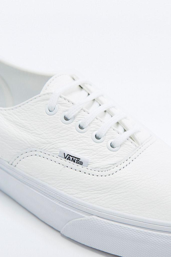 Vans Baskets Authentic Decon en cuir blanches | Urban