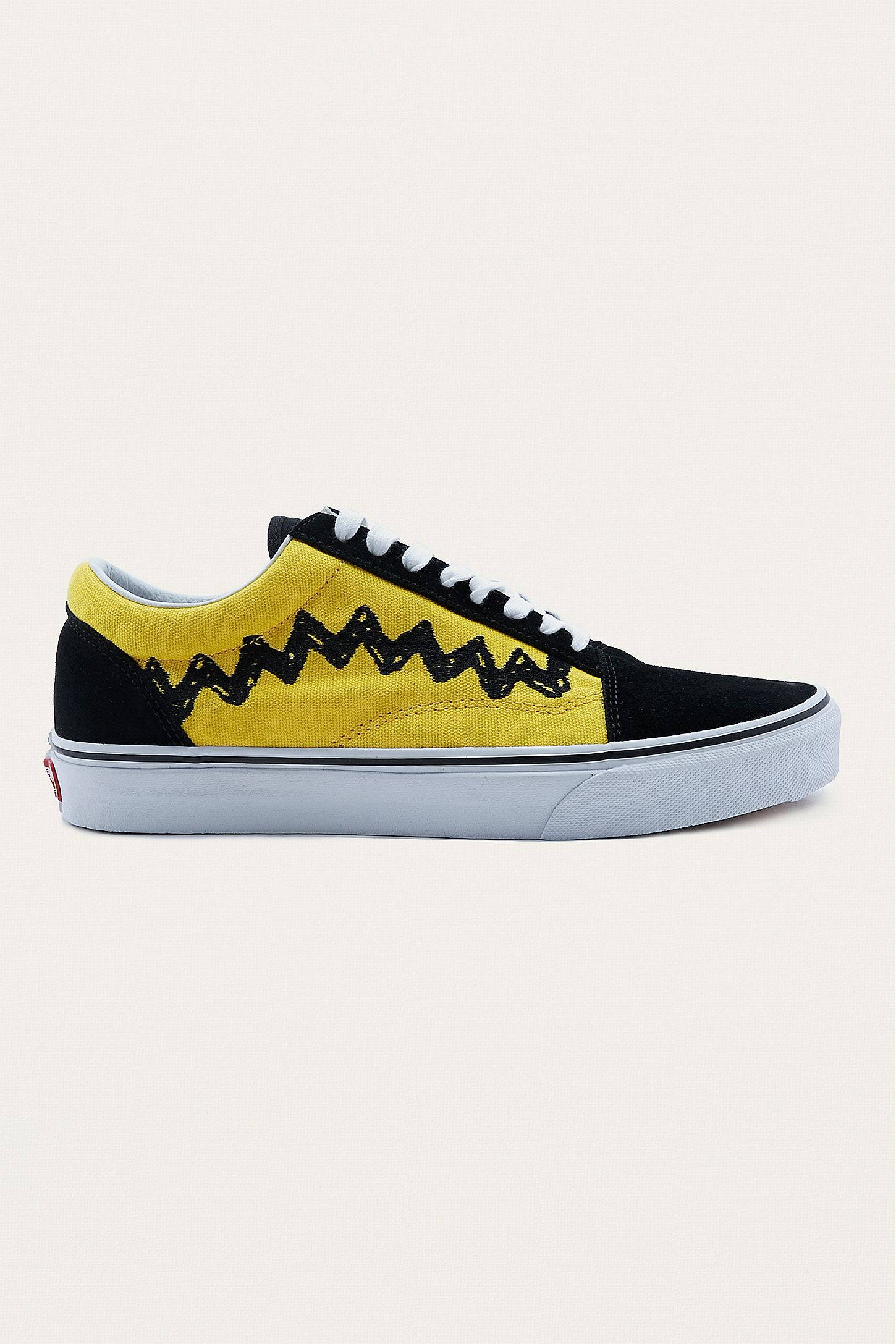 fc576837fa Vans X Peanuts Charlie Brown Old Skool Trainers. Click on image to zoom.  Hover to zoom. Double Tap to Zoom