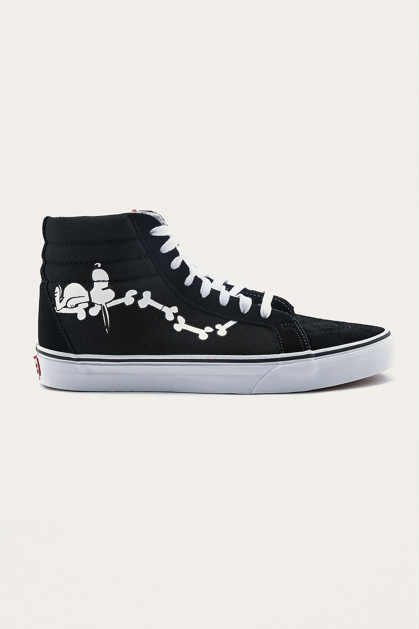 ff49b7a1e26dc2 Vans X Peanuts Sk8-Hi Reissue Trainers. Click on image to zoom. Hover to  zoom. Double Tap to Zoom
