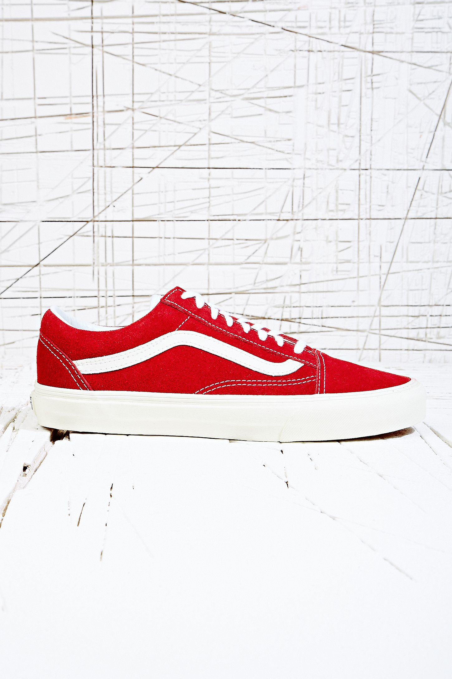 6eb19b7dfa Vans Old Skool Vintage Trainers in Rio Red. Click on image to zoom. Hover  to zoom. Double Tap to Zoom