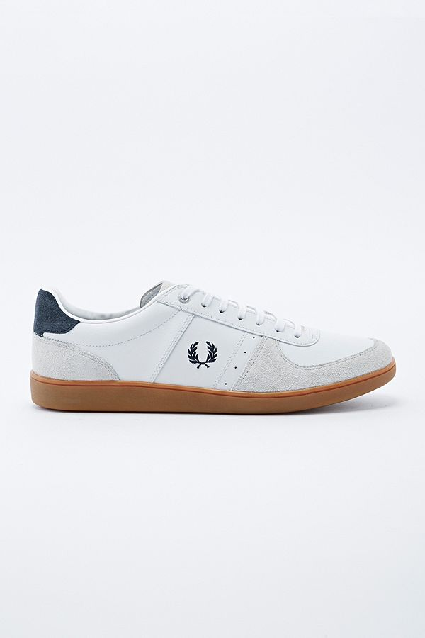 971002c997ce Fred Perry - Chaussures Trenton blanches