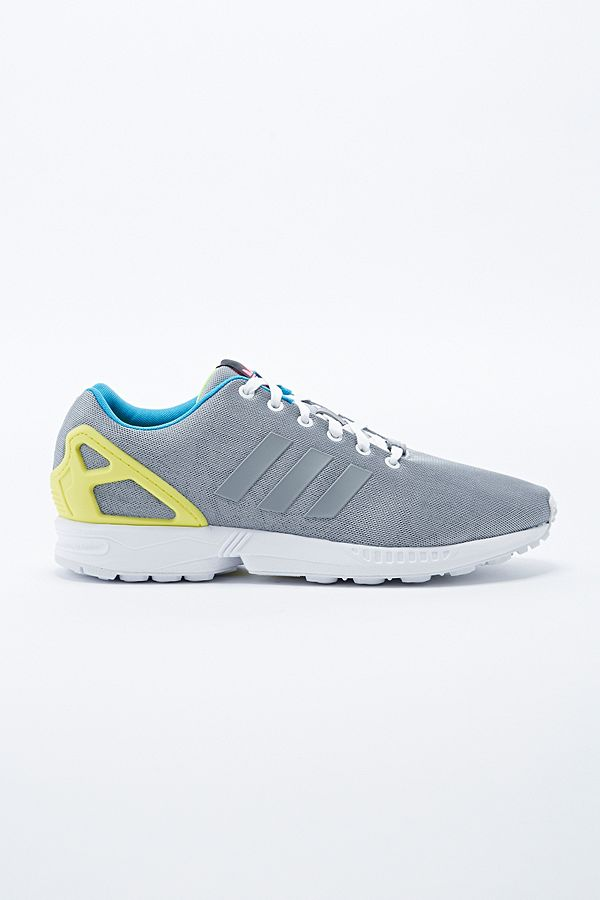 buy online 233ff c6594 adidas ZX Flux Trainers in Grey | Urban Outfitters UK