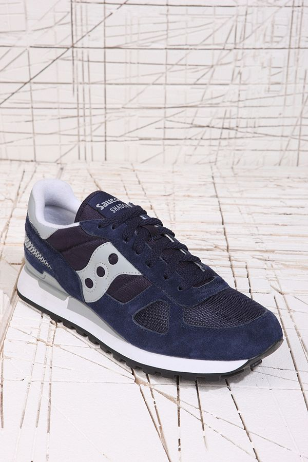 superior quality 589c6 5b6a0 Saucony Shadow Original Trainers in Navy   Urban Outfitters UK
