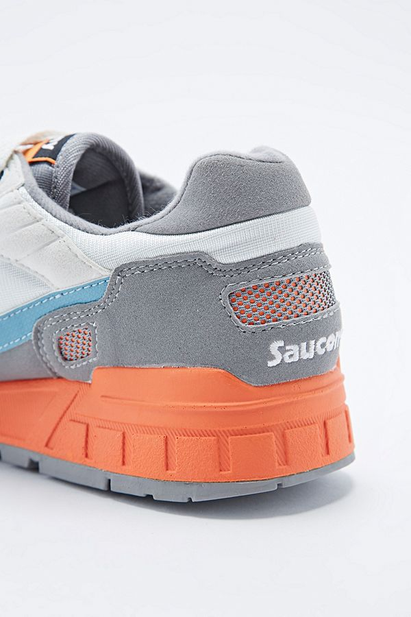 6fc6cb5c13d3 Slide View  2  Saucony Shadow 5000 in Grey and Blue