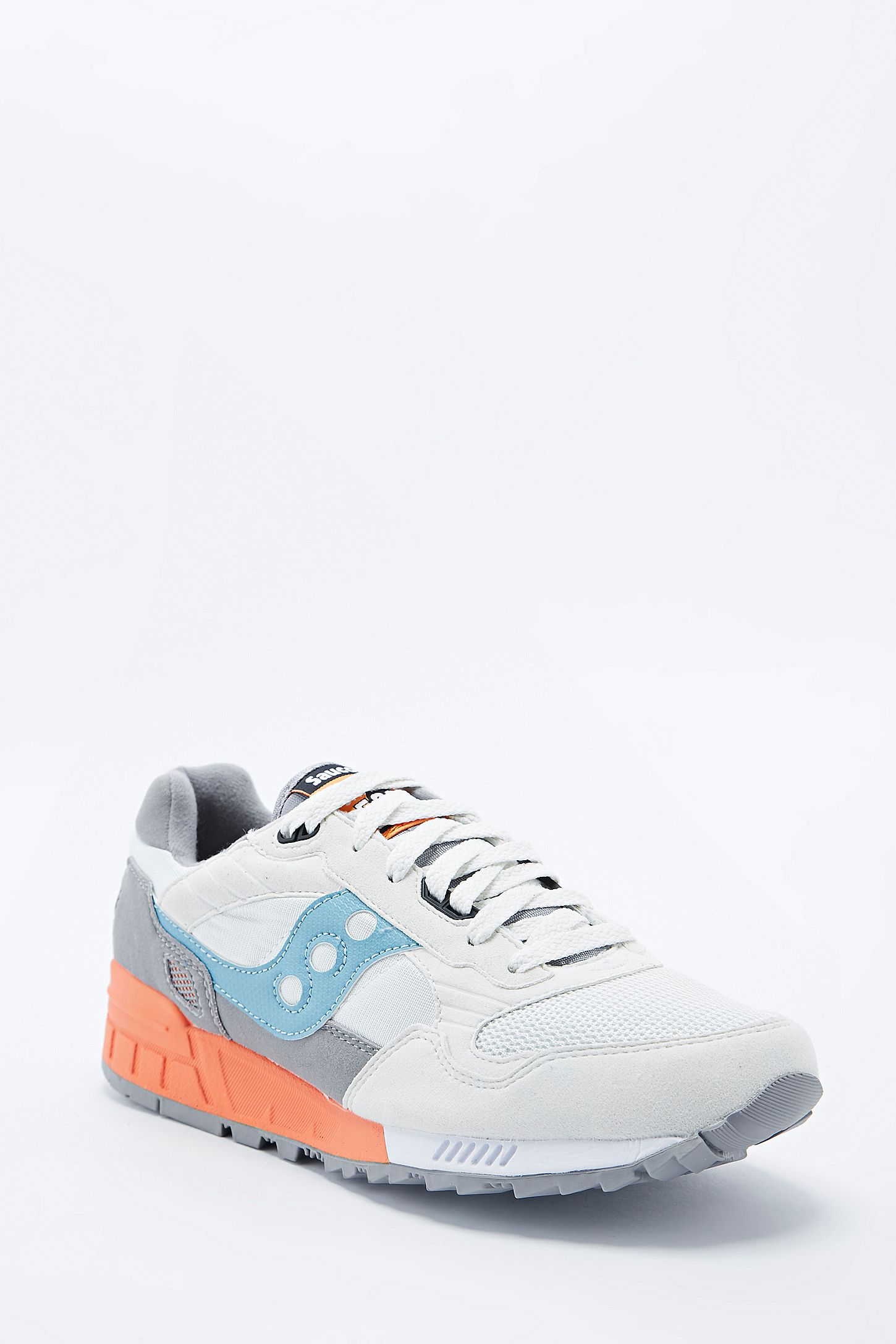 b210ec5a3423 Slide View  5  Saucony Shadow 5000 in Grey and Blue