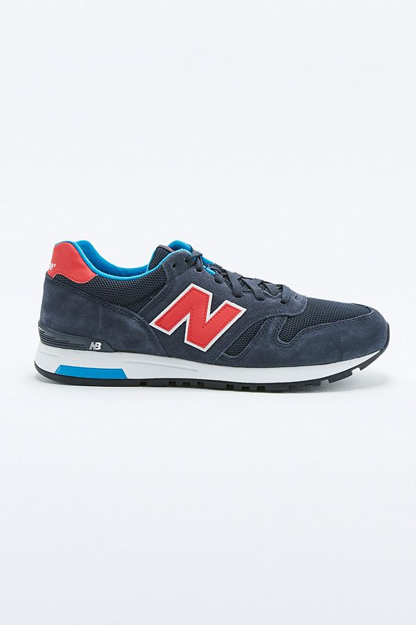 new balance 565 bleu rouge
