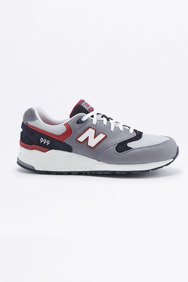 new concept f6eaf ab194 New Balance 999 Elite Edition Vintage Grey and Navy Suede ...