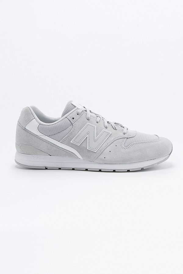on sale 66faa c363a New Balance 996 Grey Suede Trainers | Urban Outfitters UK