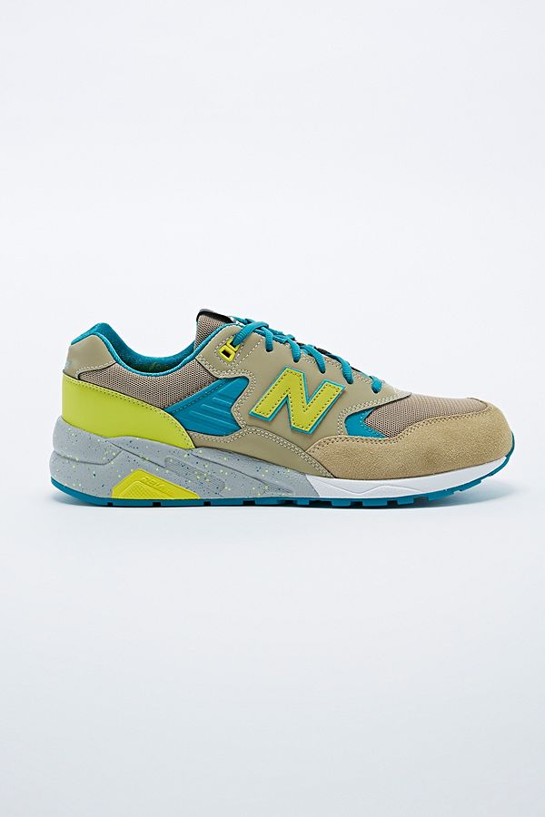 best loved b2919 4dd6d New Balance Elite Edition 580 Trainers in Lime | Urban ...