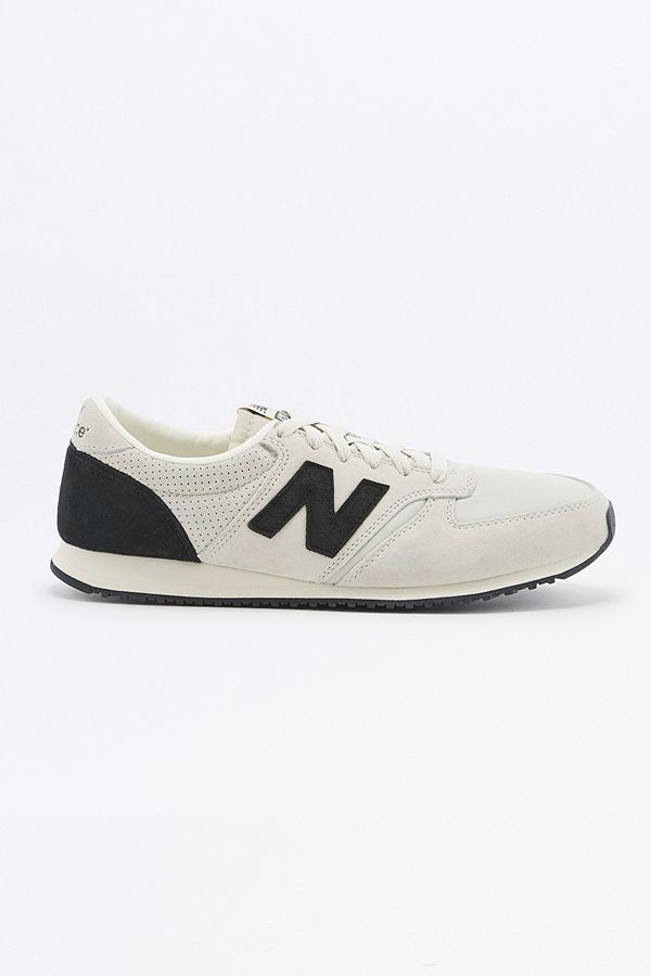 New Balance 420 Ripstop Grey and Black Trainers