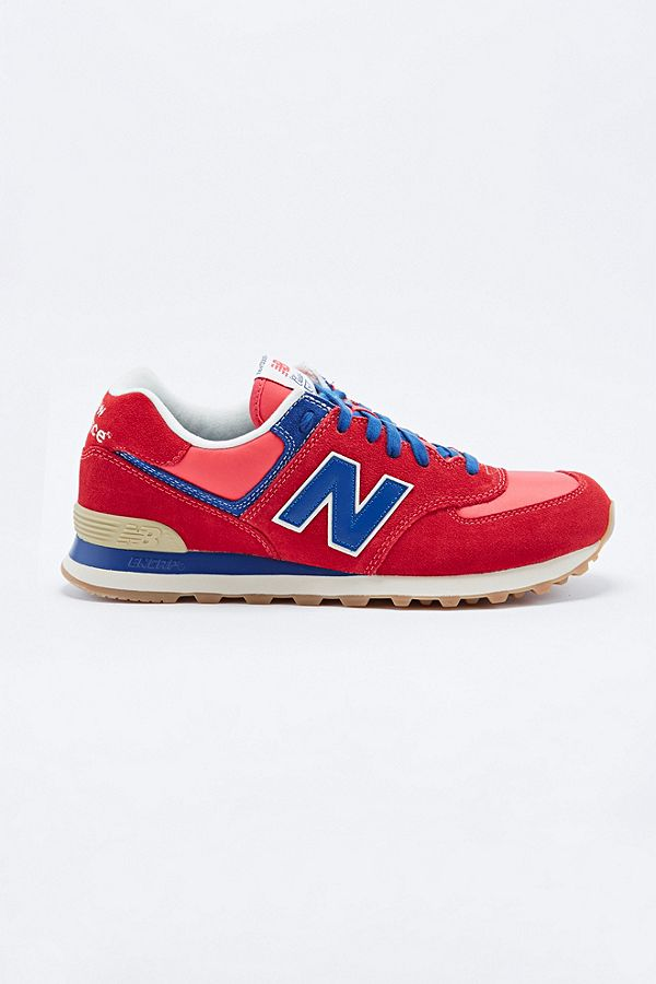 In And Running Trainers BlueUrban Balance New Classic Red 574 SzUVpM