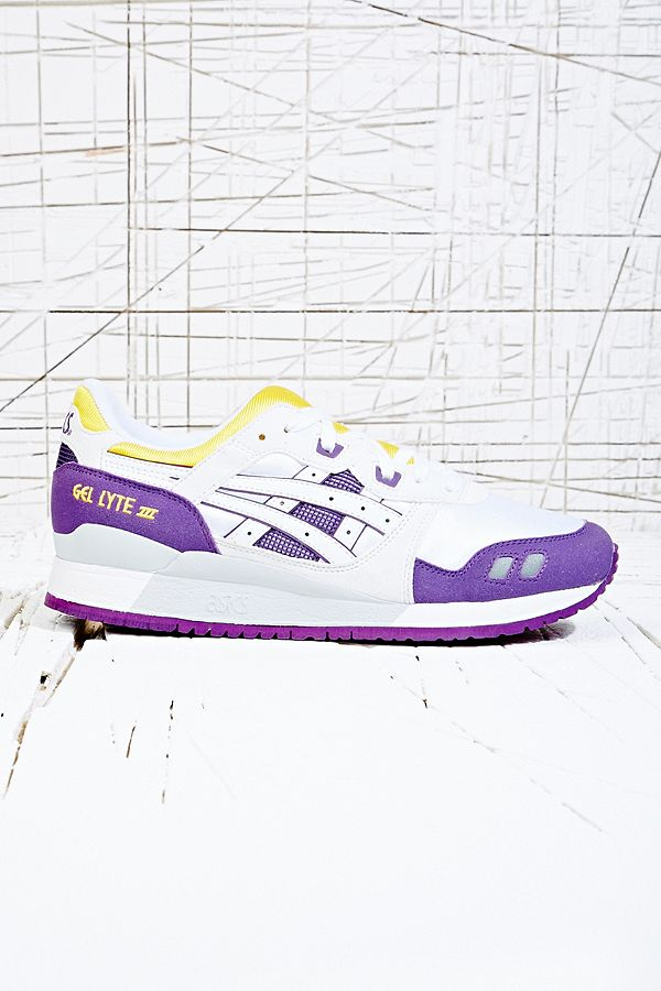 Asics Gel Lyte III Trainers in Mustard   Urban Outfitters UK