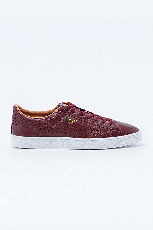 Outfitters BurgundyUrban Leather Puma In Basket Uk Trainers mnNwyPvO80